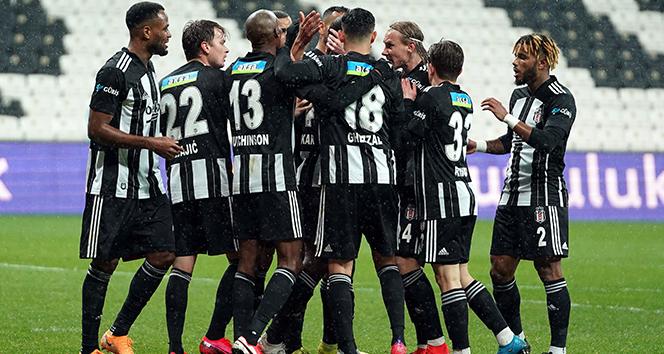 Beşiktaş, Gaziantep'i 2-1 mağlup etti