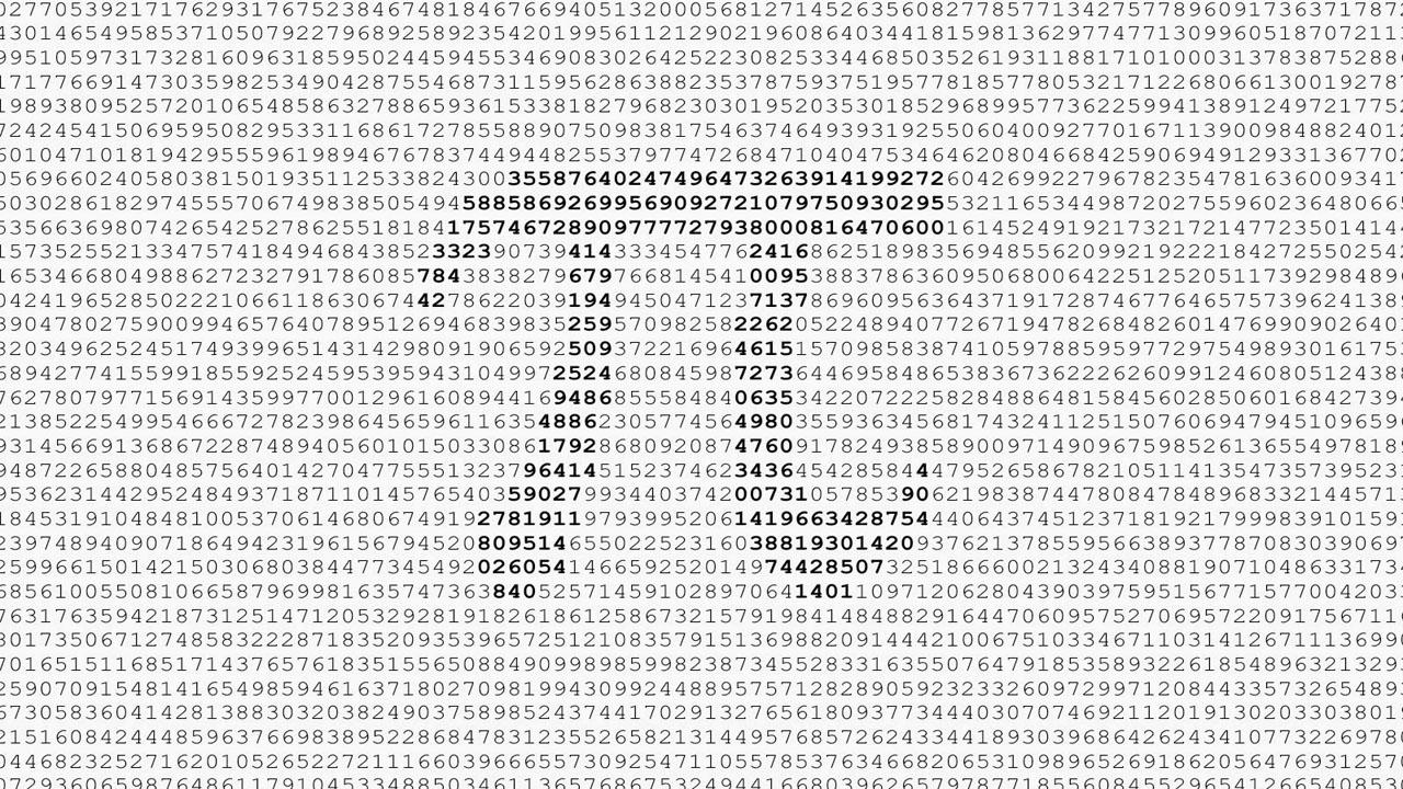 pi sayısı, pi sabiti