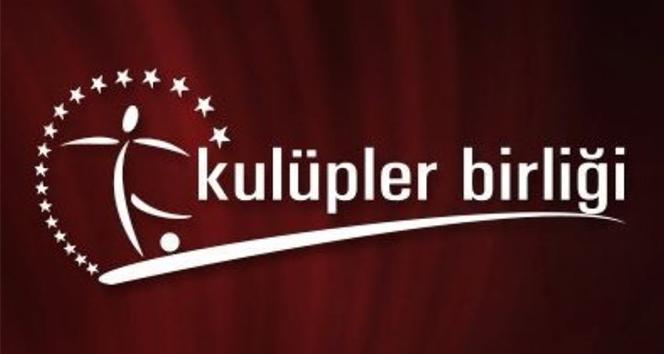 Kulüpler Birliği Vakfı: 'TFF'den beklentimiz, MHK yapısının Avrupa örneklerindeki standartlara çekilmesi'