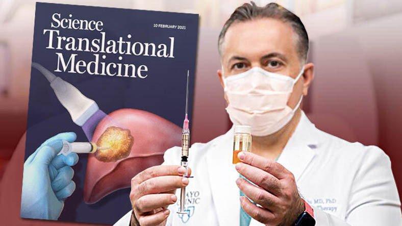 Türk Doktordan Mucizevi İlaç: Geliştirdiği Sıvı ile Kanserli Dokuyu Yok Etti