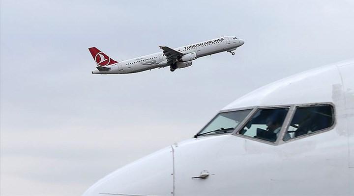 Ülke genelinde hava yolunda yolcu sayısı yüzde 56 düştü